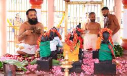 Navagraha Pooja performed at Malikappuram on 17th