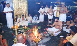 Ganapathi Homam performed on 15th morning