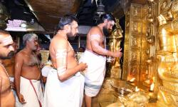 opening the shrine by MelShanthi alongwith Thannthri